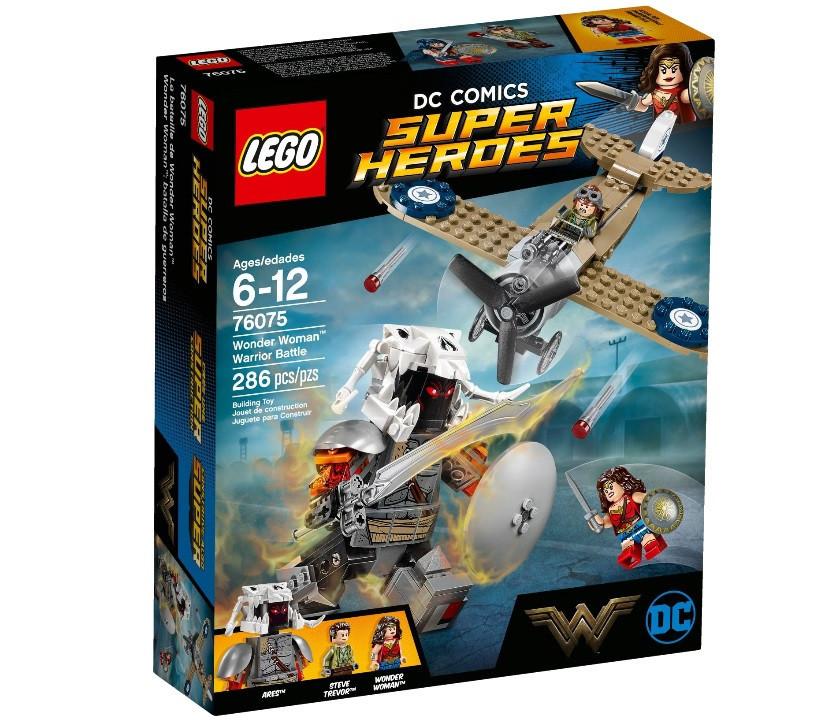 Lego Super Heroes Битва Чудо-женщины 76075