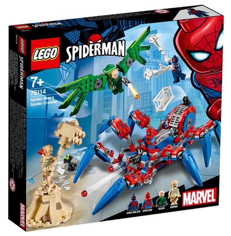 Lego Super Heroes Паучий вездеход человека-паука 76114