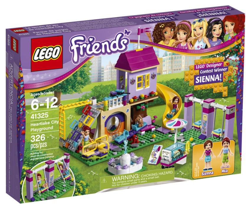 Lego Friends Игровая площадка Хартлейк Сити 41325