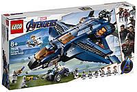 Lego Super Heroes Модернизированный квинджет Мстителей 76126, фото 1