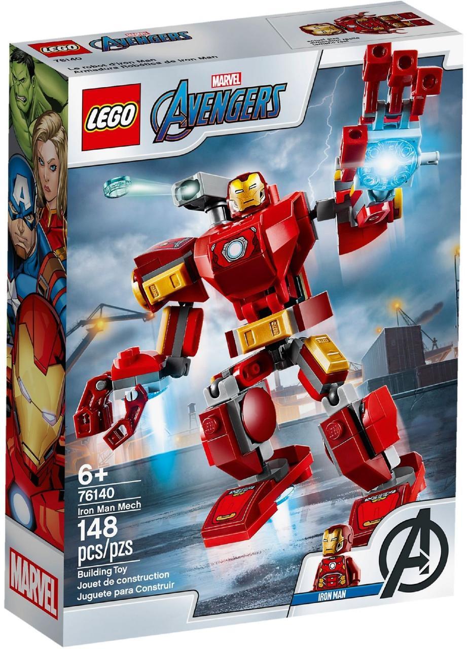 Lego Super Heroes Залізна Людина: трасформер 76140