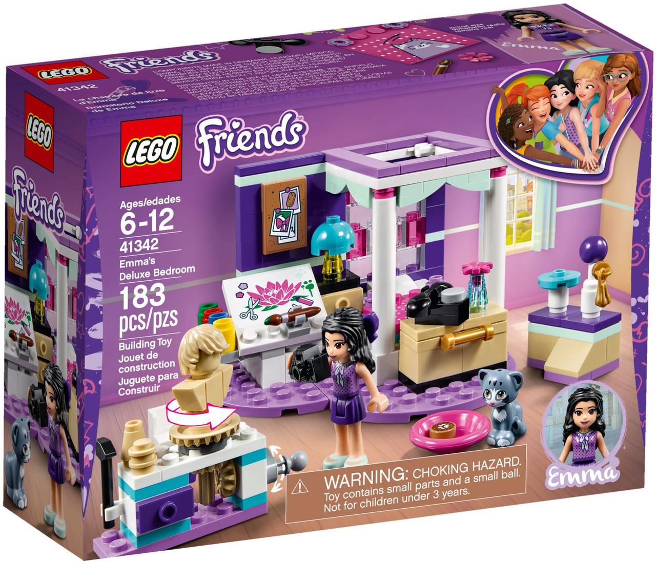 Lego Friends Роскошная комната Эммы 41342