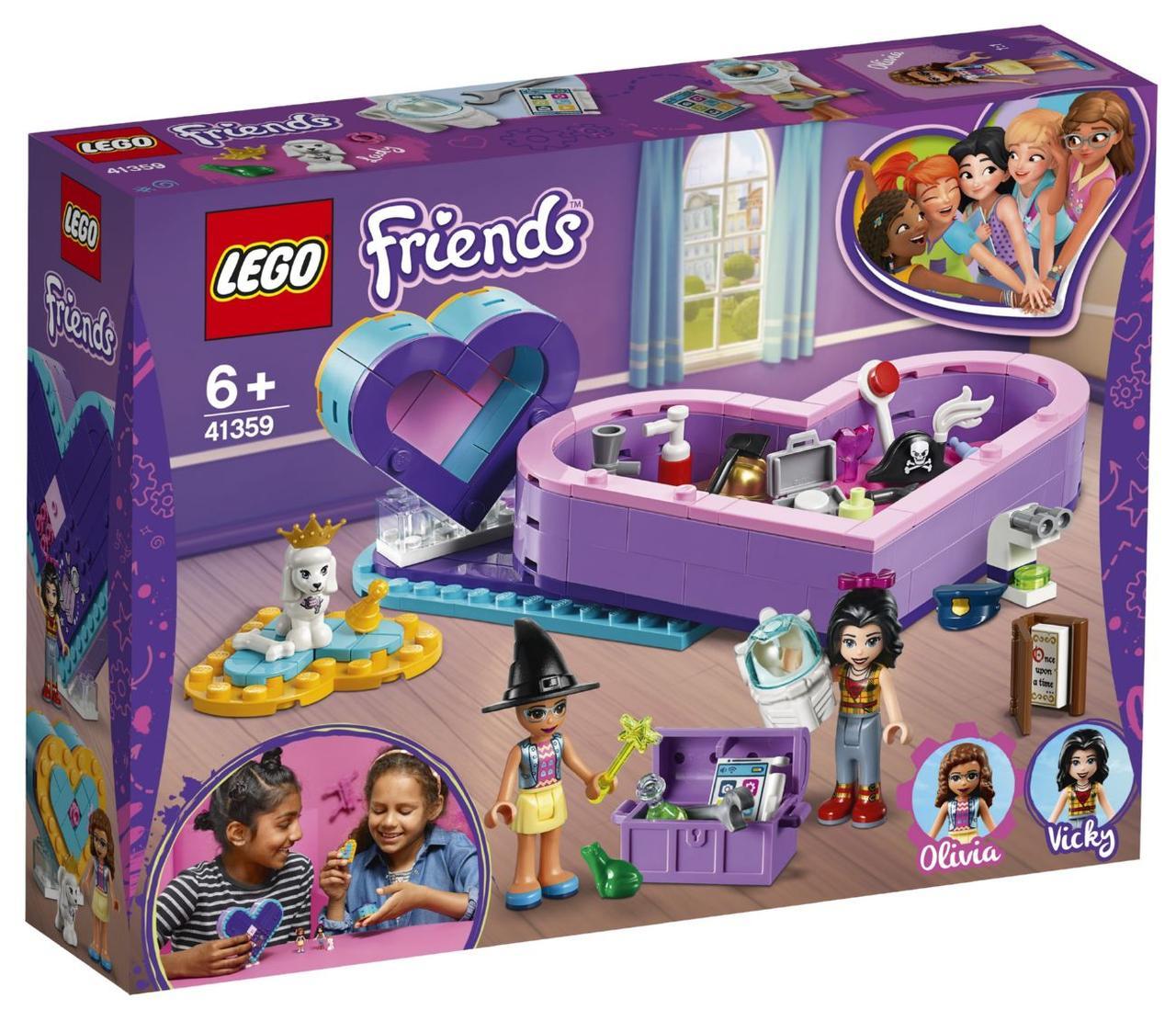 Lego Friends Большая шкатулка дружбы 41359