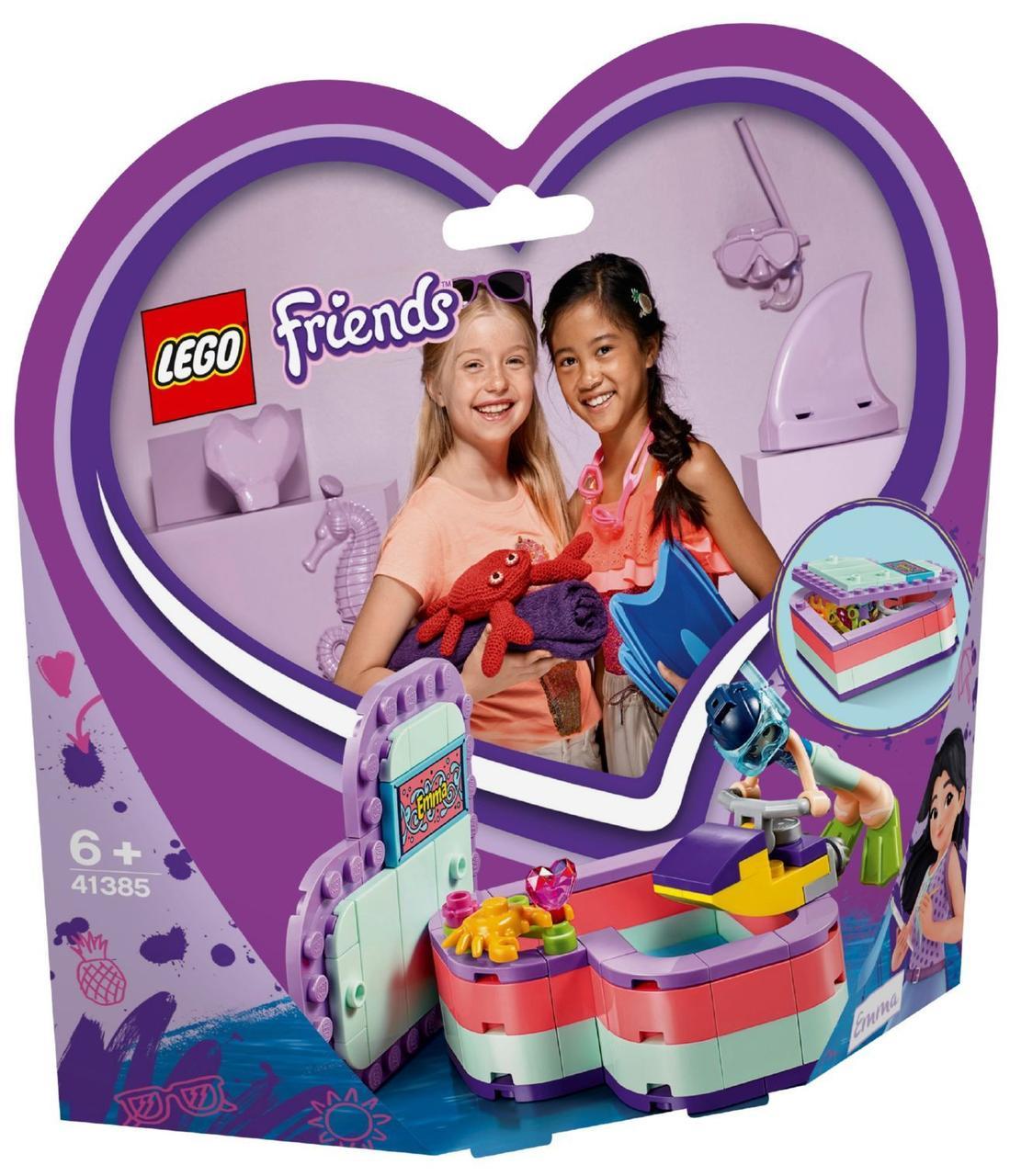 Lego Friends Летняя шкатулка-сердечко для Эммы 41385