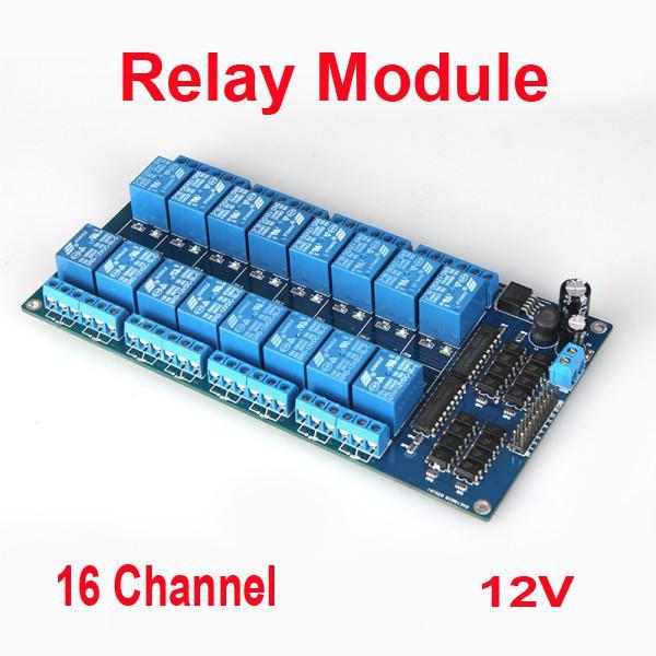 16-канальний модуль реле 12V для Arduino PIC ARM