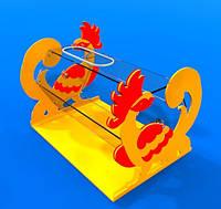 Декоративний лототрон для проведення розіграшів та акцій на 15 л