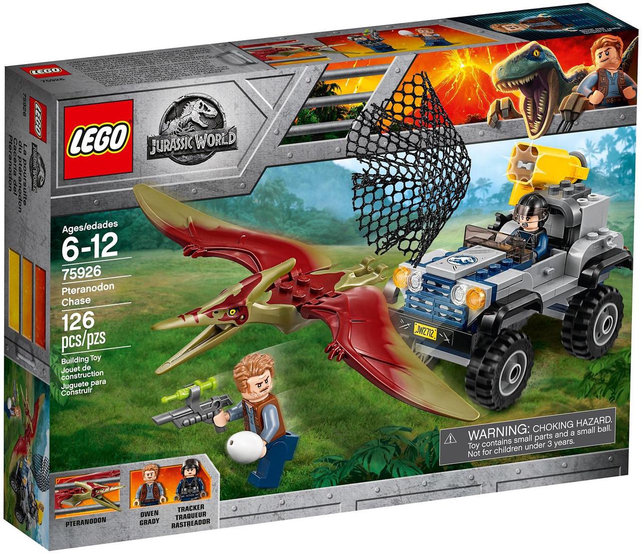 Lego Jurassic World Гонитва за Птеранодоном 75926
