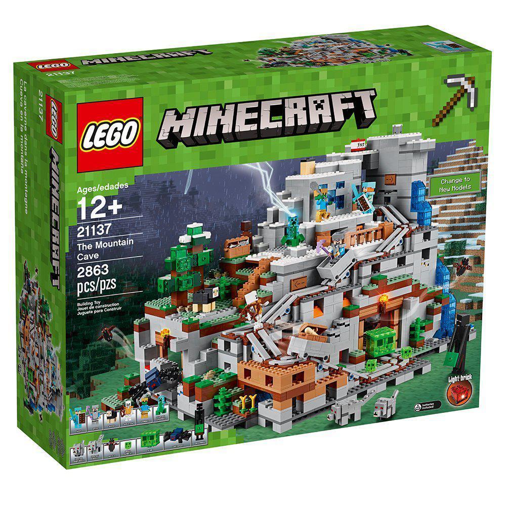 Lego Minecraft Гірська печера 21137