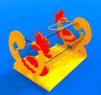 Лототрон для промоакцій на 20 літрів з кольоровою основою