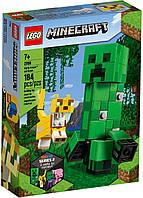 Детский Конструктор Lego Minecraft Большие фигурки Minecraft Крипер и Оцелот 21156, фото 1