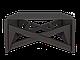 Стіл трансформер Папа Карло Чорний/Стол раскладной Папа Карло Чёрный, фото 2