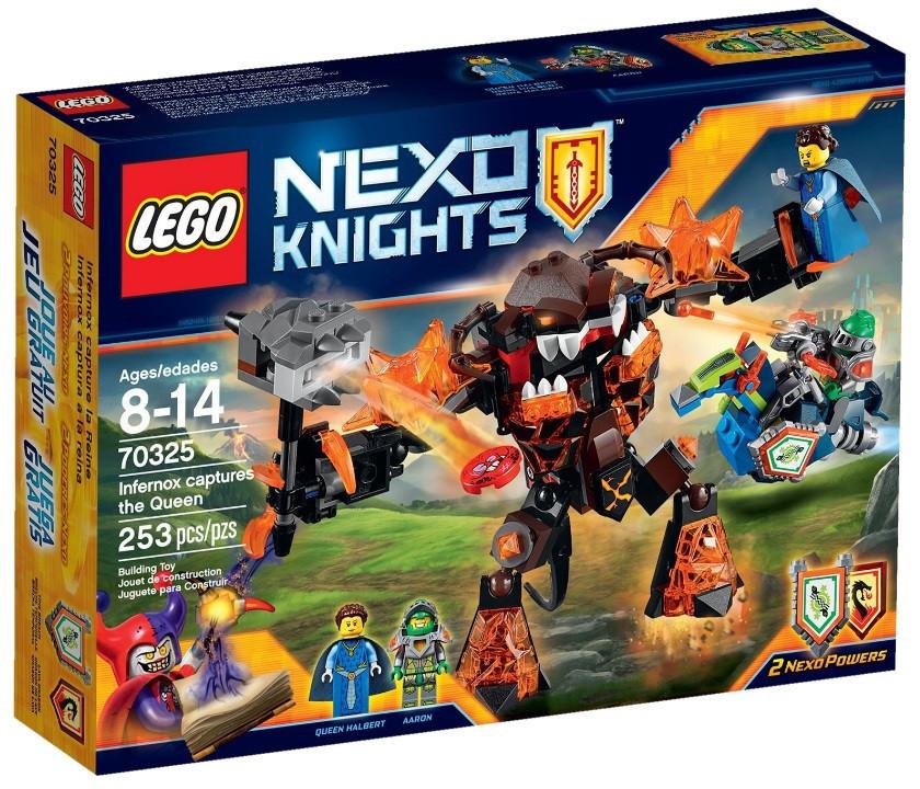 Детский Конструктор Lego Nexo Knights Инфернокс и захват королевы 70325