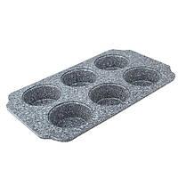 Форма для выпечки 6 кексов MR-1128-6