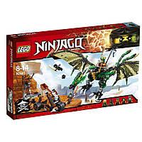 Lego Ninjago Зелёный Дракон NRG 70593, фото 1