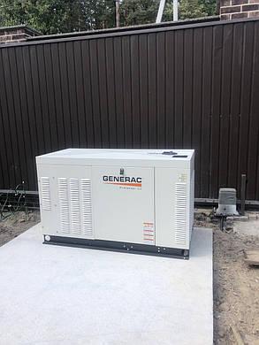Газовий Генератор Generac RG2224R трифазний (17,6 кВт), фото 2