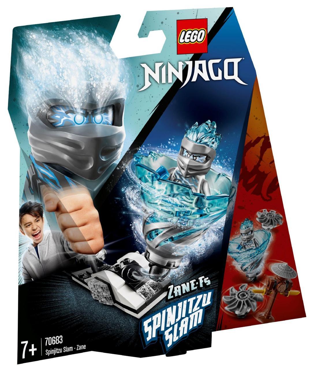 Lego Ninjago Бой мастеров кружитцу — Зейн 70683
