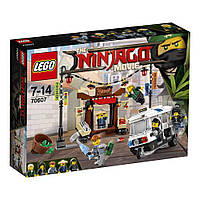 The Lego Ninjago Movie Погоня по городу Ниндзяго 70607, фото 1