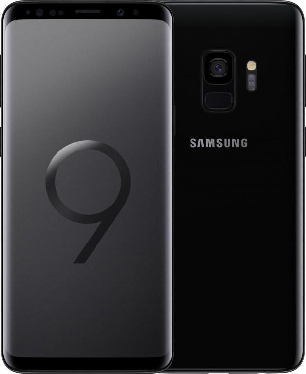 Смартфон Samsung Galaxy S9 ref Snap SM-G960U 64Gb Black Grade B Refurbished