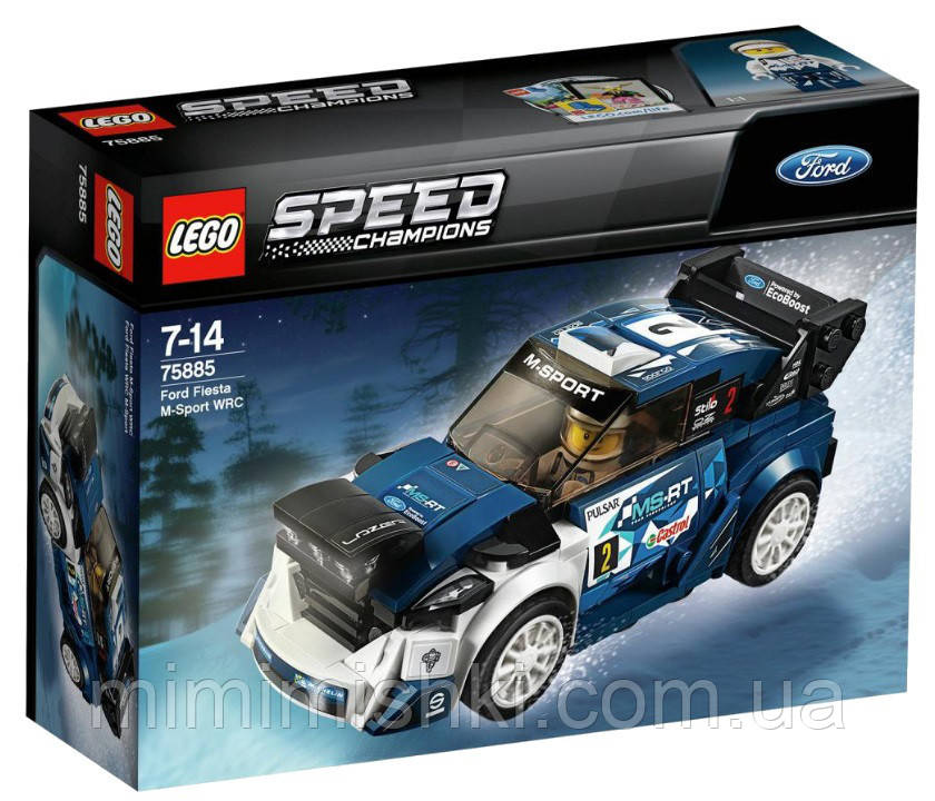 Lego Speed Champions Форд Фиеста M-Sport WRC 75885