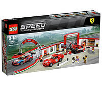 Lego Speed Champions Гараж Феррари 75889, фото 1