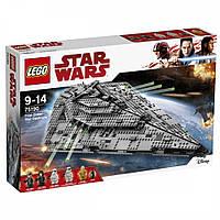 Lego Star Wars Звёздный разрушитель Первого Ордена 75190, фото 1