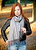 Шарф-палантин Cashmere Аделина 180*70 см серый