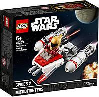 Lego Star Wars Микрофайтеры: Истребитель Сопротивления типа Y 75263, фото 1