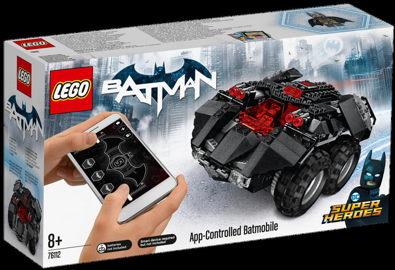 Lego Super Heroes Бетмобіль з дистанційним управлінням 76112