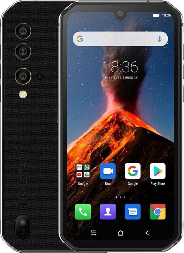Захищений телефон Blackview BV9900 silver протиударний водонепроникний смартфон