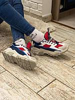 Стильные женские кроссовки, разноцветные. Violeta 36 37 23.5 см 38 39 40 41