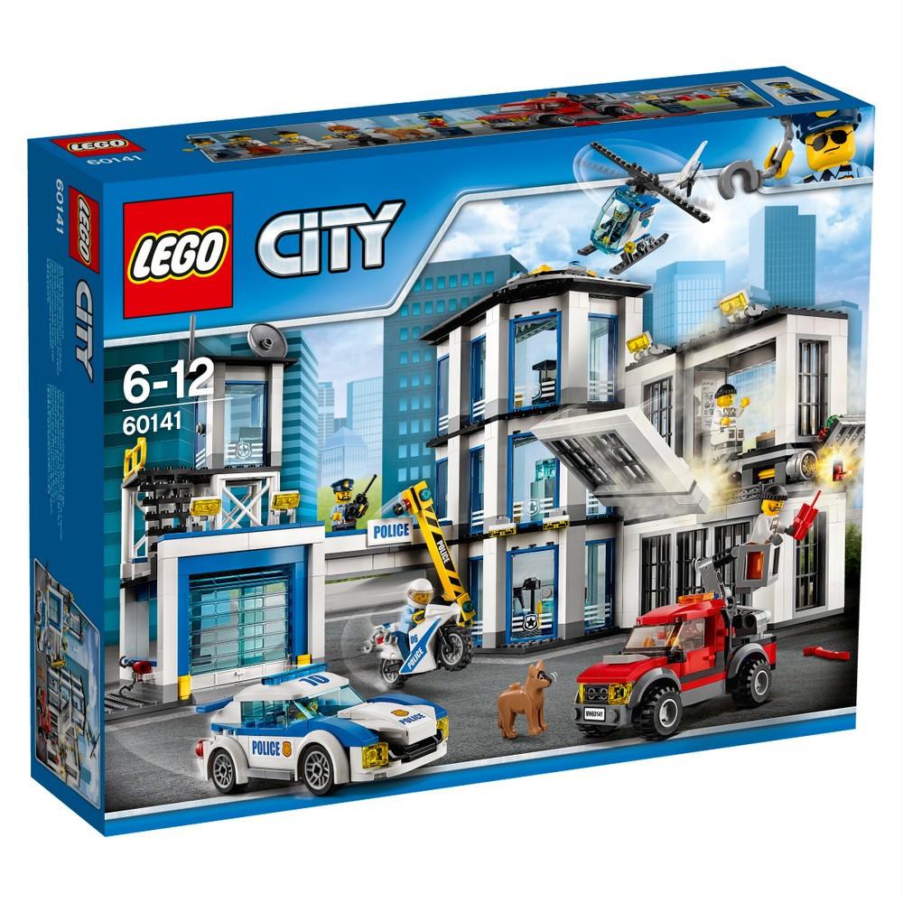 Lego City Полицейский участок 60141