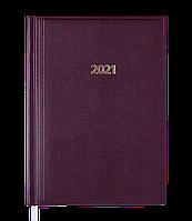 Щоденник датов.2021 BASE (Miradur), бордовий, L2U, A5, бумвініл/поролон, фото 1