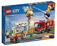 Lego City Пожежа в бургер-кафе 60214, фото 1