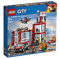 Детский Конструктор Lego City Пожарное депо 60215, фото 1