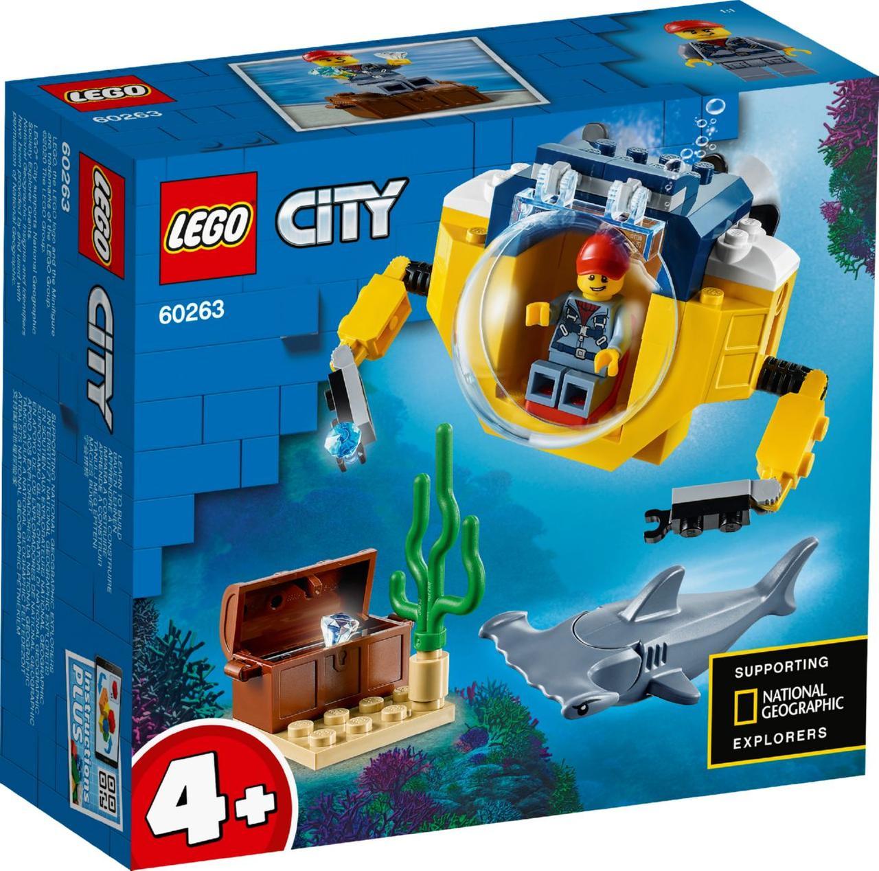 Lego City Океан: мини-подлодка 60263