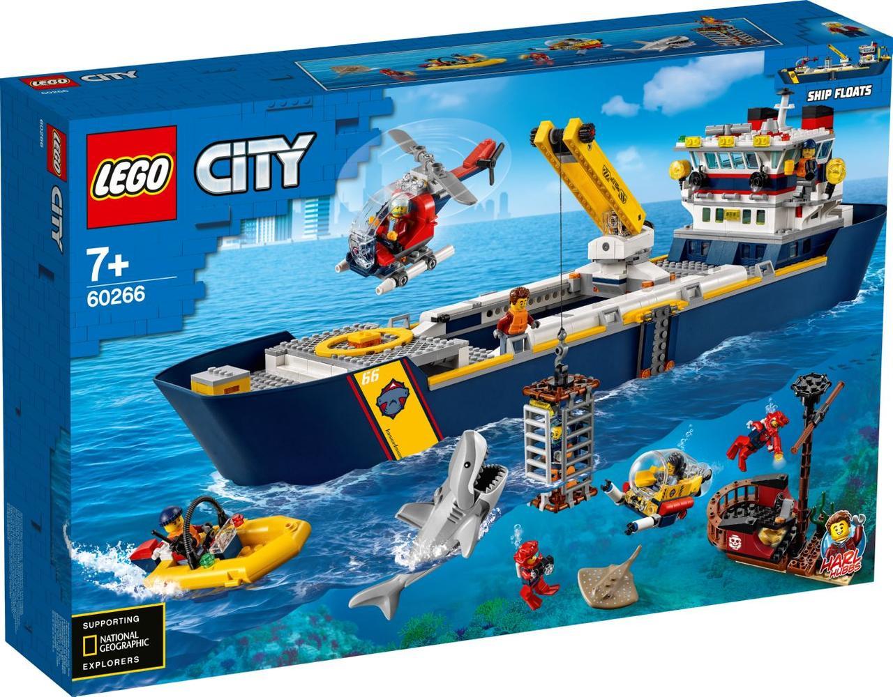 Lego City Океан: дослідницьке судно 60266