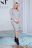 Женский юбочный спортивный костюм, разные цвета, р.48,50 Код спорт-7, фото 3