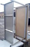 Стіл з бортом виробничий 600х600х850, фото 2