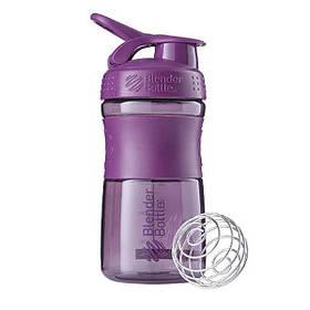 Спортивная бутылка-шейкер BlenderBottle SportMixer 590ml Plum (ORIGINAL)