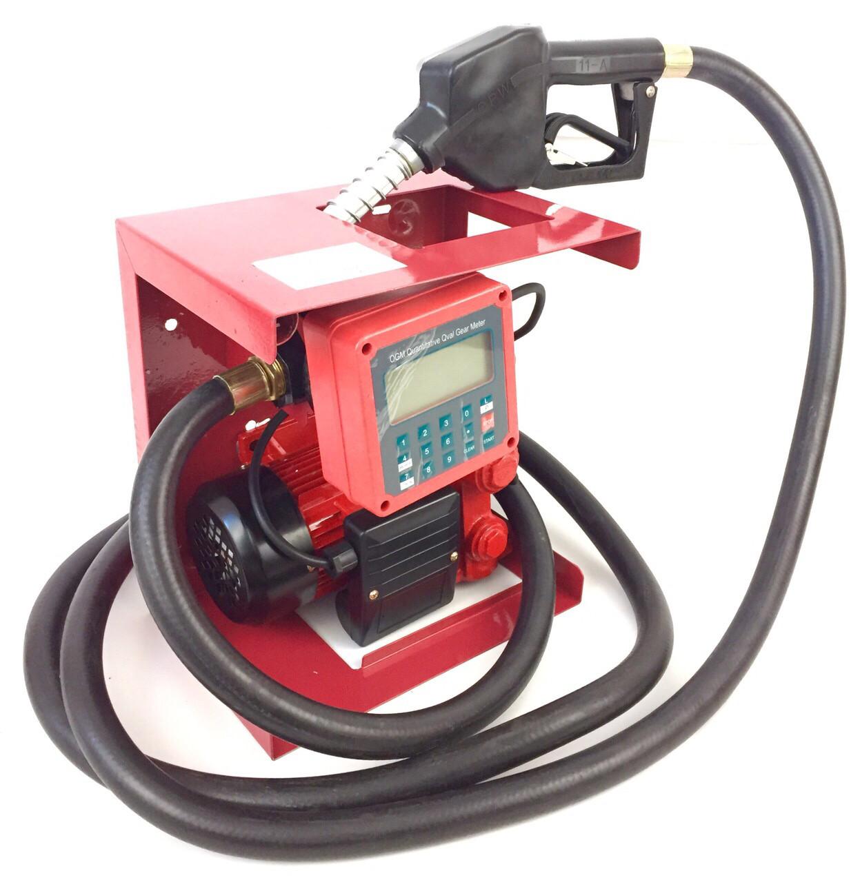 Топливная мини АЗС Euro Craft 220В 60л/мин с электронным счетчиком (ACFD40-2)