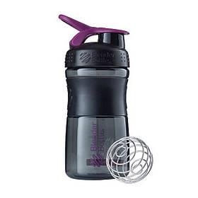 Спортивная бутылка-шейкер BlenderBottle SportMixer 590ml Black/Plum (ORIGINAL)
