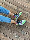 Жіночі кросівки Air Jordan Retro 1 Multicolor, фото 7