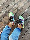 Жіночі кросівки Air Jordan Retro 1 Multicolor, фото 3