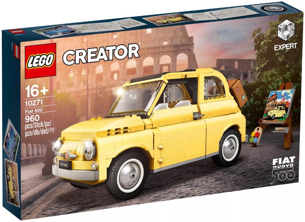 Lego Creator Expert Фиат 500 10271