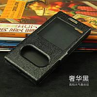 Чохол книжка для Huawei Ascend G6-U10 чорний, фото 1