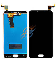 Дисплей и сенсор (дисплейный модуль) для Meizu M5 / M5 mini black + подарок