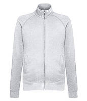 Толстовка Fruit of the Loom Lightweight sweat jacket XL Серо-лиловый 062160094XL, КОД: 1574565