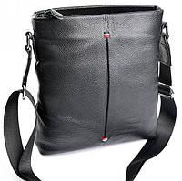 Мужская кожаная сумка  9160-3 Black. Мужские сумки оптом и в розницу недорого в Украине.