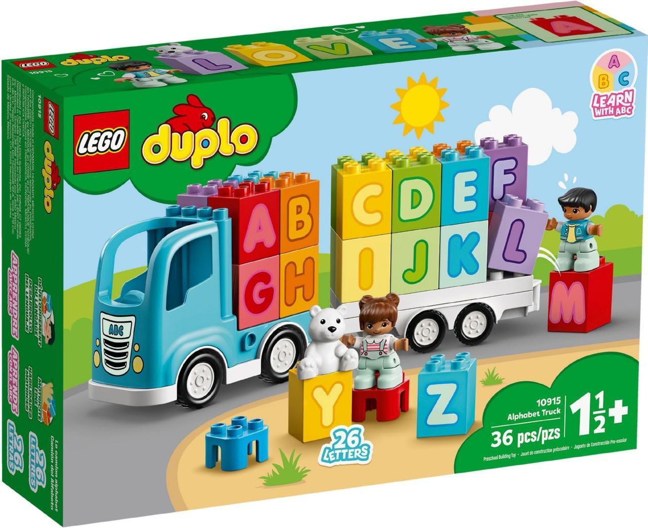 Lego Duplo Вантажівка «Алфавіт» 10915