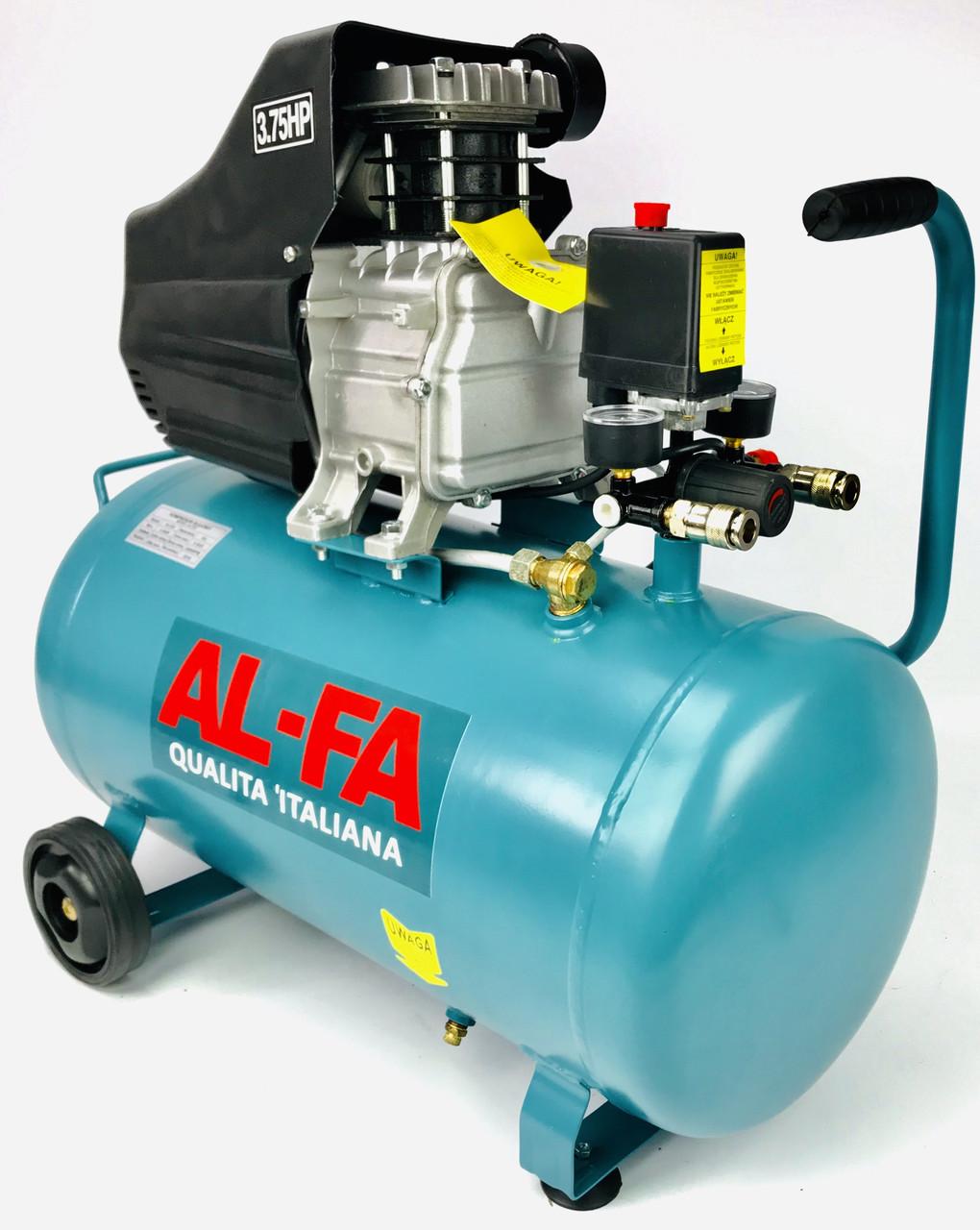 Компрессор воздушный AL-FA 50L (ALC02)